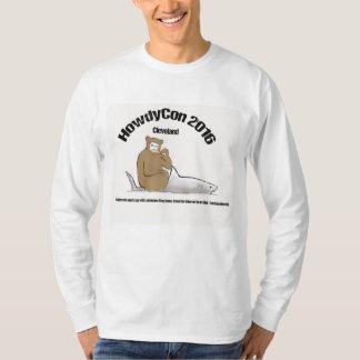 Camiseta larga de la manga de HowdyCon