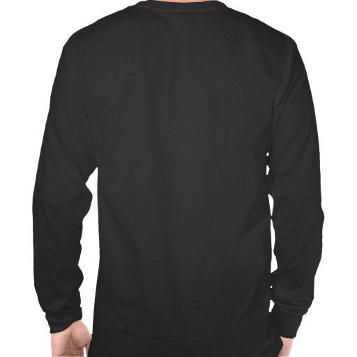 Camiseta larga de la manga de la fuerza de delta