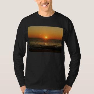 Camiseta larga de la manga de la salida del sol remera