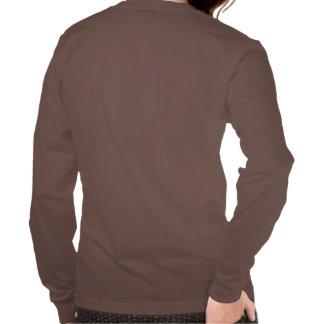 Camiseta larga de la manga de las mujeres playera