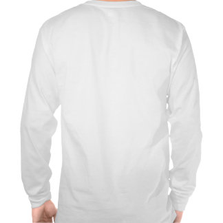 Camiseta larga de la manga de los fantasmas grise
