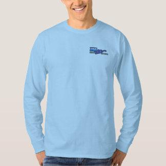 Camiseta larga de la manga de los hombres camisas