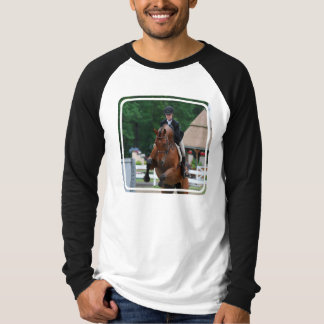 Camiseta larga de la manga de los hombres de la playeras