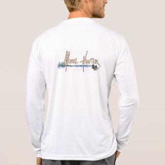 Camiseta larga de la manga de MorelHunter Playera