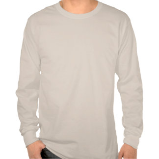 Camiseta larga de la manga de Ridge del trueno