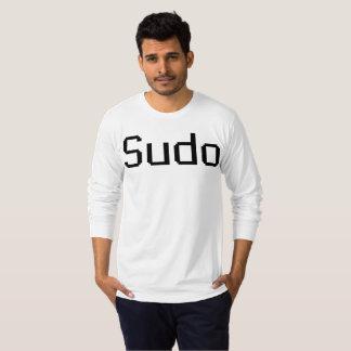 Camiseta larga de la manga de Sudo - de American