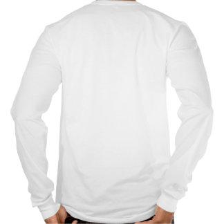 Camiseta larga de la manga del campo a través