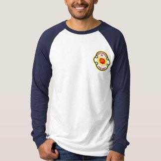 Camiseta larga de la manga del cuerpo de bomberos