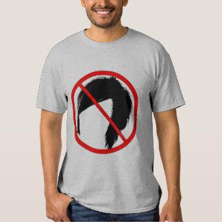 Camiseta larga de la manga del equipo Anti-Emo de  Playera