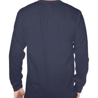 Camiseta larga de la manga del fuego Engine-2 de V