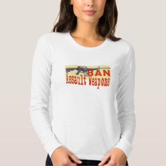 Camiseta larga de la manga del jersey de las armas