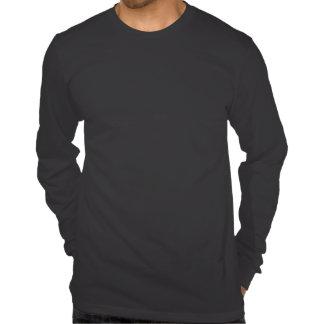 Camiseta larga de la manga del jersey fino de OMAM