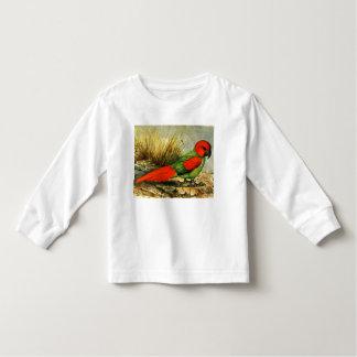 Camiseta larga de la manga del niño de