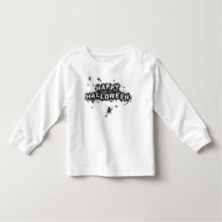 Camiseta larga de la manga del niño de la araña playera de manga larga de niño