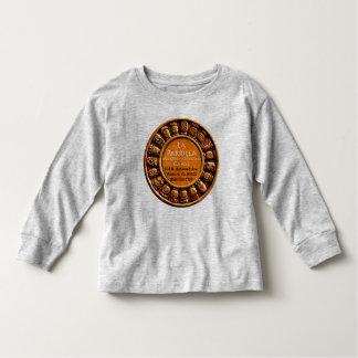 Camiseta larga de la manga del niño de Parrilla Remeras