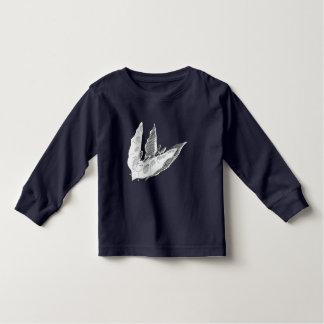 Camiseta larga de la manga del niño del palo de playera
