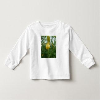 Camiseta larga de la manga del niño lindo playera