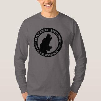 Camiseta larga de la manga del perro de los