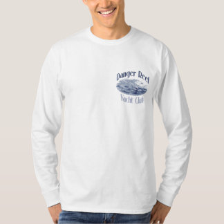 Camiseta larga de la manga del puerto de Roche del Playeras