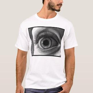Camiseta larga de las pestañas