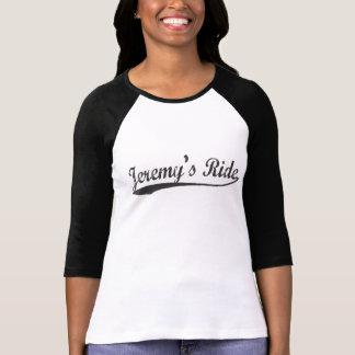 Camiseta larga del béisbol de la manga del paseo