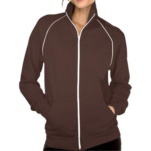 Camiseta larga del marrón de la manga de Kristen