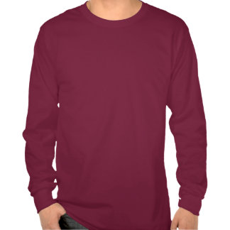 Camiseta larga del tenis de la manga con cita dive