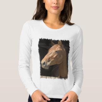 Camiseta larga excelente de las señoras de la poleras