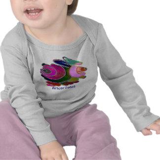 Camiseta larga Frigg de la manga del niño