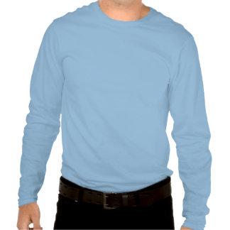 Camiseta larga impresionante de la manga de