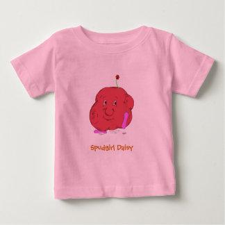 Camiseta larga infantil de la manga de la playera para bebé