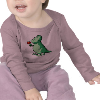 Camiseta larga infantil de la manga