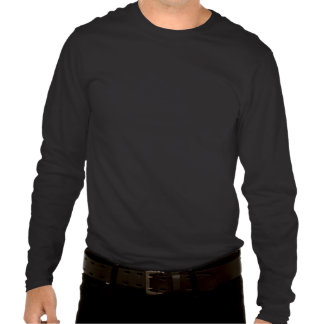 Camiseta larga nana de la manga de Hanes del lobo