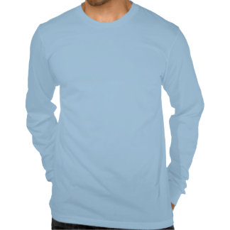 Camiseta larga para hombre de la manga con diverso
