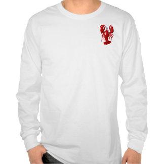 Camiseta larga para hombre de la manga de la playeras