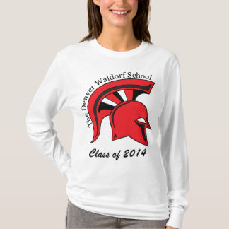 Camiseta larga para mujer de la manga