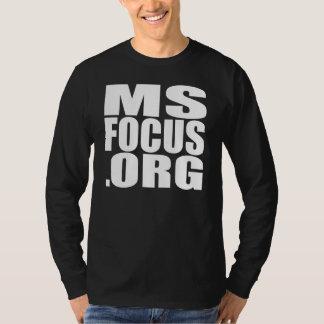 camiseta Largo-envuelta de msfocus.org