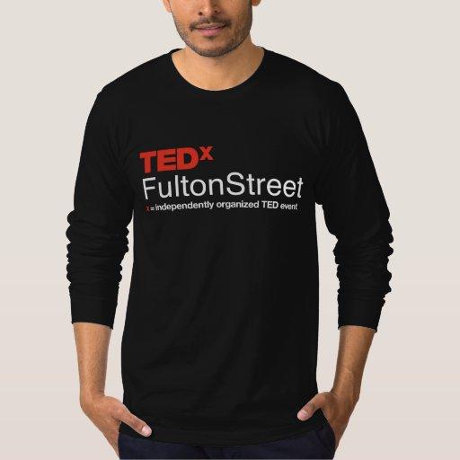 Camiseta Largo-Envuelta de TEDxFultonStreet 2014 Poleras