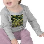 Camiseta Largo-Envuelta niño amarillo de las