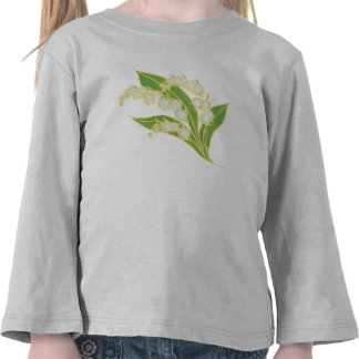 Camiseta Largo-Envuelta niño: Lirio de los valles