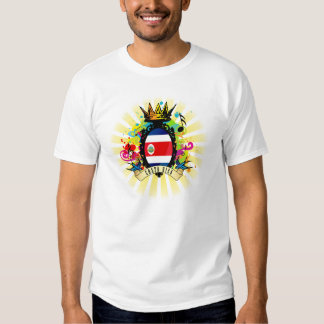 Camiseta latina de la música de Costa Rica onza Playeras