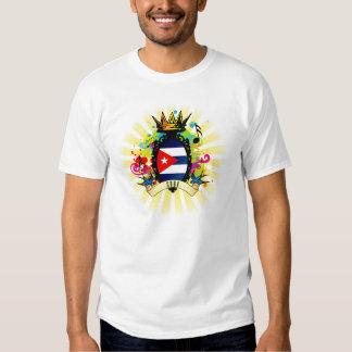 Camiseta latina de la música de Cuba onza Remeras