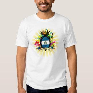Camiseta latina de la música de El Salvador onza Playeras