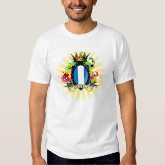 Camiseta latina de la música de Guatemala onza Camisas