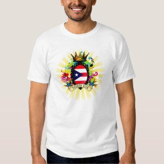 Camiseta latina de la música de Puerto Rico onza Remera