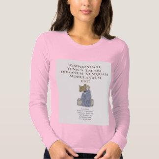 Camiseta latina del lema poleras