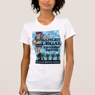 Camiseta legal de la cebada - para mujer