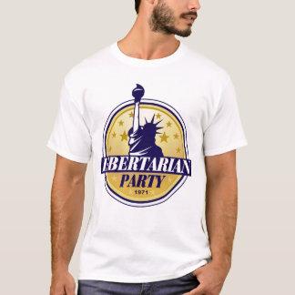 Camiseta libertaria del fiesta