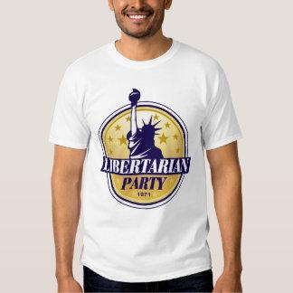 Camiseta libertaria del fiesta playera