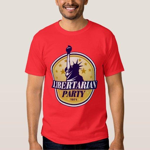 Camiseta libertaria del fiesta polera